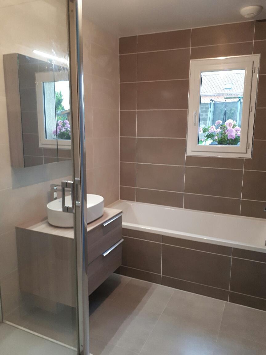 Installation de salles de bains vers Boulogne-sur-Mer, Berck et